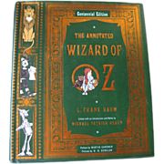 The Annotated Wizard of Oz by L Frank Baum / Illustrated Book / Film History / Movie Posters