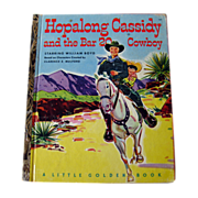 Hopalong Cassidy and the Bar 20 Cowboy Little Golden Book / Western Book / Childrens Book / LGB / Collectible Book