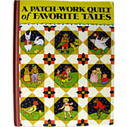 A Patch Work Quilt of Favorite Tales / Little Black Sambo / Illustrated Childrens Book / Gift Book / Read Aloud Book / 1930s