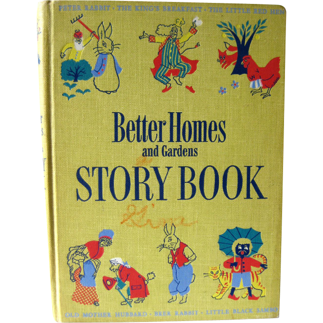 Better Homes And Gardens Story Book / Little Black Sambo / Illustrated Childrens Book / Gift Book / Read Aloud Book