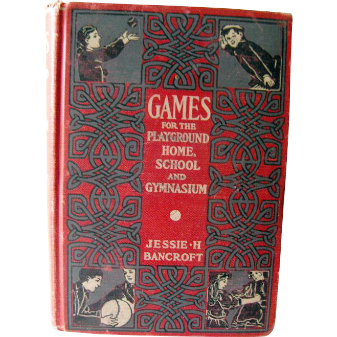 Vintage Book Games For Playground Home School and Gymnasium / 1920s Entertainment / Vintage Photography / Child Photography