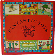 Vintage Childrens Book Fantastic Toys Written and Illustrated by Monika Beisner / Childrens Book / Pictoral Book / Gift Book