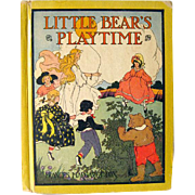 Little Bears Playtime by Frances Margaret Fox Illustrated by Frances Beem / Illustrated Childrens Book / Gift Book / Story Time Book
