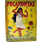 Pocahontas by Ingri and Edgar Parin d Aulaire / Illustrated Childrens Book / Gift Book / History Book / Early American