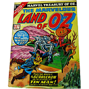 Stan Lee Presents The Marvelous Land of Oz Marvel Treasury of Oz Comic Book / 1975 Comic Book