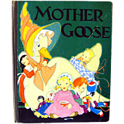 Fern Bisel Peat Mother Goose Her Best Known Rhymes / Childrens Illustrated Book / Read Aloud Book / 1930s Book
