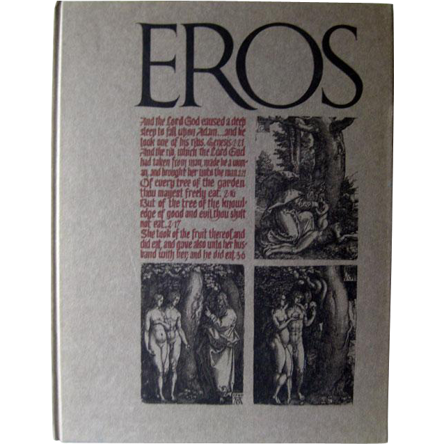 Adult Erotica Vintage Book Eros Winter 1962 Volume One Number Four / Ralph Ginzburg / Art Book