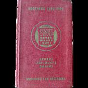 Southern Vitrified Clay Pipe Engineers Handbook / Vintage Engineering Book / Vintage Instructional Book