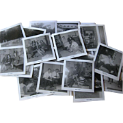 Family Vintage Photographs in Black and White 25 1960s / Scrapbooking Photos /Vintage Ephemera