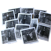 Nuns Ordination Photographs Black and White 14 1960s / Nun Taking Vows /Vintage Ephemera / Scrapbooking Photos