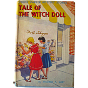 Tale Of The Witch Doll A Penny Parker Mystery Vintage Book / Mystery Series Book / Vintage Childrens Book / 1940s Book