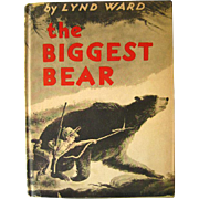 The Biggest Bear by Lynd Ward / Childrens Book / 1960s Book / Fiction Book