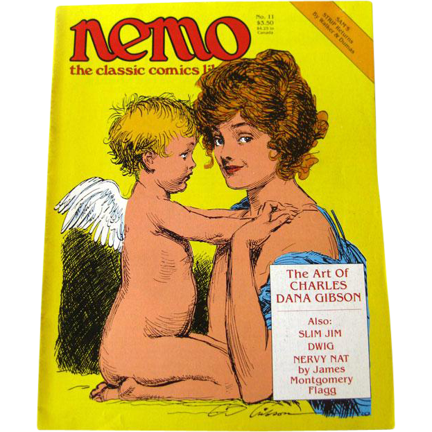 Nemo Classic Comics Library Vintage Magazine / Charles Dana Gibson Edition / Gibson Girls