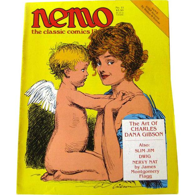 Nemo Classic Comics Library Vintage Magazine / Charles Dana Gibson Edition / Gibson Girls