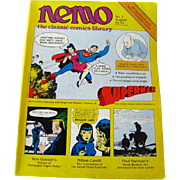 Nemo Classic Comics Library Vintage Magazine Superman Edition Number 2 August 1983 / Superman Comics / Newspaper Comics