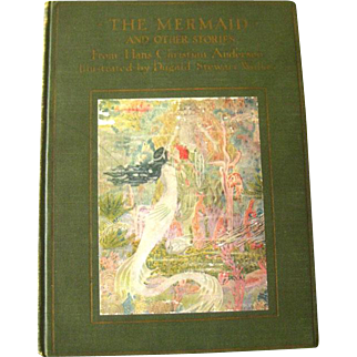The Mermaid and Other Stories Illustrated by Dugald Stewart Walker - Art Nouveau Illustration - Hans Christian Andersen - Illustrated Book