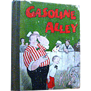 Gasoline Alley by Frank King - Early Cartoon Strip Book - 1920s Cartoon Book - Animation Book - Gift Book