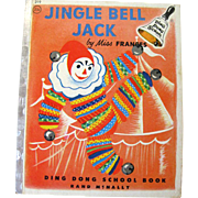 Jingle Bell Jack Ding Dong School Book by Dr Frances Horwich Illustrated by Katherine Evans - Miss Frances School - Childrens Library