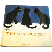 The Cats of Louis Wain First Edition - Feline Art - Bibliotheque de l'Image - Patricia Allderidge