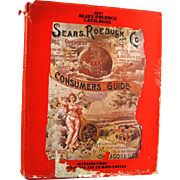 1897 Sears Roebuck Catalogue 1968 Replica With Introduction by S J Perelman and Richard Rovere - Fashion History - American History
