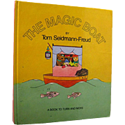RARE Pop Up Book The Magic Boat By Tom Seidmann-Freud - Sigmand Freuds Neice - Childrens Book - Out Of Print Vintage Pop Up Childrens Book