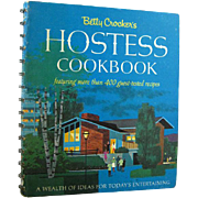 Betty Crocker's Hostess Cookbook - Vintage Entertaining Book - 1960s Cook Book - Retro Decor - Table Settings - Recipe Book - First Edition