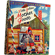 The Little Golden Mother Goose Nursery Rhymes - Little Golden Book Library - Childrens Library - Early Childhood Book - Childrens Literature
