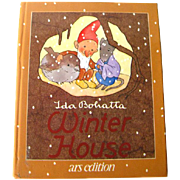 Ida Bohatta Winter House - Childrens Library - Early Childhood Book - Childrens Literature