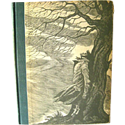 Emily Bronte Wuthering Heights With Wood Engravings / Emily Bronte / Classic Books / Literature / Illustrated Book / Eichenberg