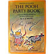 The Pooh Party Book - Winnie The Pooh - Party Planning Book - Recipe Book - Party Ideas - Childrens Birthday Party