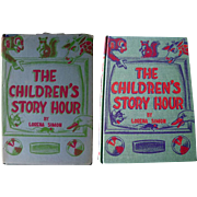 The Childrens Story Hour Vintage Childrens Book by Lorena Simon - Rare Childrens Book - Out Of Print Book Illustrated Childrens Book