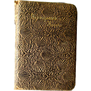 The Poetical Works Of Alfred Tennyson Hurst Publishing Collectible Turn of The Century Poetry Book