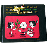A Charlie Brown Christmas Vintage Childrens Book by Charles Schultz - Illustrated Kids Book - Vintage Childrens Book - Classic Holiday Book