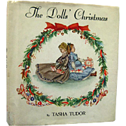 Tasha Tudor The Dolls Christmas - Vintage Holiday Childrens Book - Kids Christmas Book
