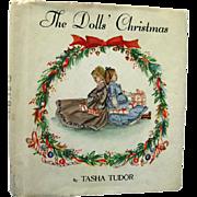 Tasha Tudor The Dolls Christmas - Vintage Holiday Childrens Book - Kids Christmas Book