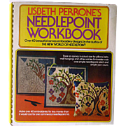 Needlepoint Workbook by Lisbeth Perrone - Mid Century Home Decor Pattern Book - Home Decor - Throw Pillow Patterns - DIY Patterns