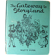 The Gateway To Storyland by Watty Piper Illustrated by Eulalie - Little Black Sambo - Childrens Literature - Picture Book - Classic Storybook - Collectible Book