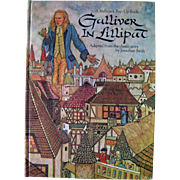 Gulliver in Lilliput Pop Up Book - Kids Books - 3d Book - Hallmark Book - Vintage Pop Up Book - Gullivers Travels