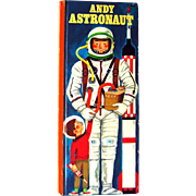Andy Astronaut Golden Busy People Book - Rare Childrens Book - Kids Books - Childrens Literature - Read Aloud Book - Space Travel