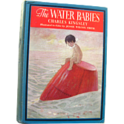 Water Babies by Charles Kingsley RARE Vintage Book - Jessie Willcox Smith Illustrations 1937 Edition