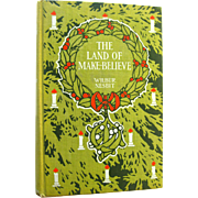 Christmas Book The Land of Make Believe - Christmas Poems - Christmas Gift - Collectible Book