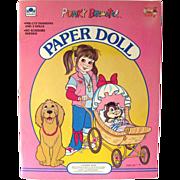 Golden Books Paper Doll PUNKY Brewster - Vintage 1980s Paper Dolls