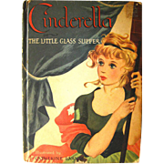Classic Fairy Tale Cinderella - Vintage Childrens Books - Kids Gift Books