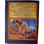 Maxfield Parrish Illustrated Book The Arabian Nights - Rare Book - Collectible Books -Classic Storybook