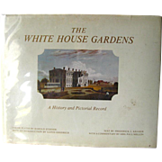 White House Garden Book With Pat Nixon - First Edition Art Book - Vintage Gardening Book