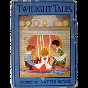 Illustrated Childrens Book Twilight Tales - Kids Gift - Nursery Decor
