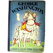 First Edition Childrens Book - George Washington - Ingri and Edgar DAulair - President Biography