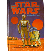 Pop Up STAR WARS Book - Vintage Scifi Book - 3D Book