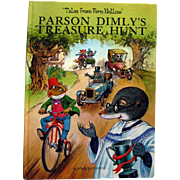 Vintage Childrens Book by John Patience Parson Dimlys Treasure Hunt - Read Aloud Book - Kids Books