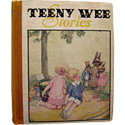 COLLECTIBLE Teeny Wee Tales - Vintage Childrens Illustrations - Fairy Pictures